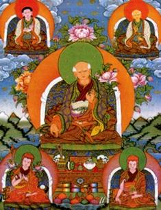 5 founding masters of Sakya Order